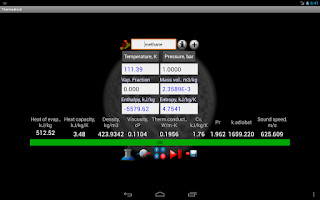 Screenshot of Thermodroid