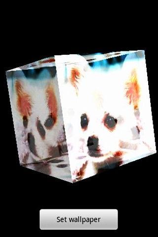 3D かわいい犬68