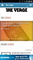 Screenshot of Gadget News