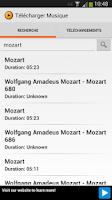 Screenshot of Musique Gratuite