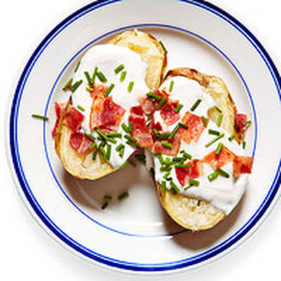 Bacon & Chive Baked Potato
