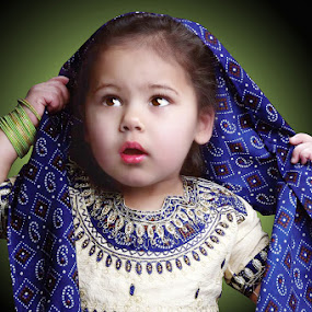 Angel by Nazir Gohar - Babies & Children Child Portraits ( digital retouching, childern photography, girl, nikon d 90, art, beauty, photoshop,  )
