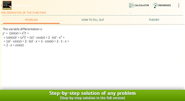 Screenshot of Math Helper Lite - Algebra
