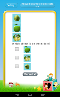 Spatial Sense - Math 1st grade - screenshot