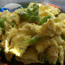 Broccoli Scrambled Eggs- It's Good, I Promise!