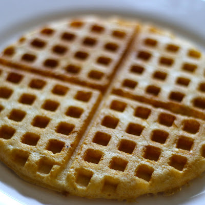 Crisp and Fluffy Raised Waffles [Recipe]