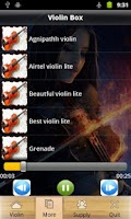 Screenshot of Fingertip Violin Playing