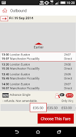 Screenshot of Virgin Trains