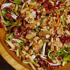 Radicchio Salad With Frisee and Apples