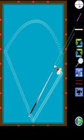 Screenshot of Carom 3 Cushion (Billiard)