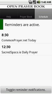 Open Prayer Book - screenshot