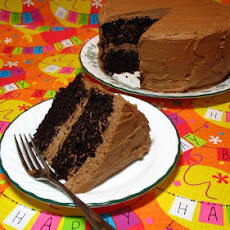 Perfect One-Bowl Chocolate Layer Cake