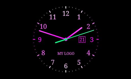 цифровые часы заставка на телефон № 56954 бесплатно