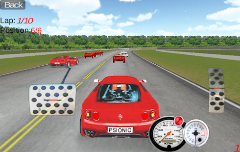 Turbo Speed Racing 3D - screenshot