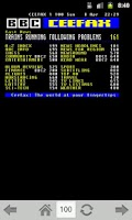 Screenshot of TeleText