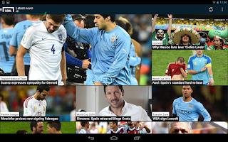 Screenshot of Goal.com