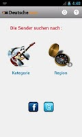 Screenshot of Deutsche Radio