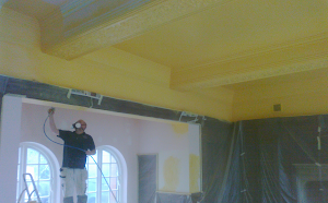 Interior painting job