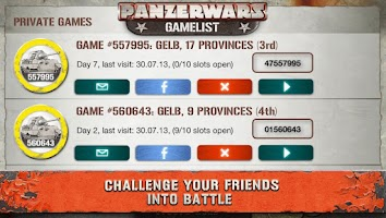 Screenshot of PanzerWars