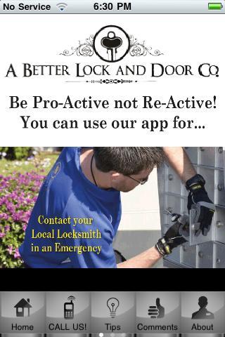 A Better Lock And Door