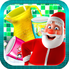 Santa Dish Washing Game