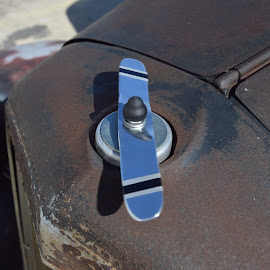 36 Chevy Hood Ornament Propeller by Kevin Dietze - Novices Only Objects & Still Life