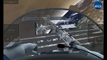 Screenshot of ISS Space Station