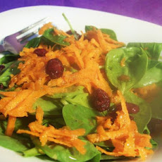 Spinach and Carrot Salad