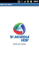 Screenshot of Bem na Hora - Tv Morena