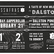 SASSAFRAS | A TASTE OF NEW ORLEANS IN DALSTON