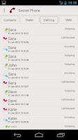Screenshot of Secret Phone (free)