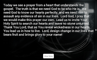 Screenshot of Verse-A-Day Bible Verses Free