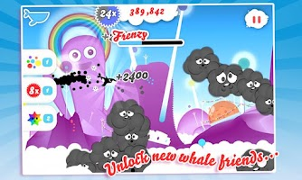 Screenshot of Whale Trail Frenzy