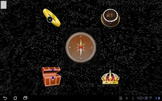 Screenshot of Magic Compass Zero