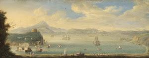 RIJKS: circle of Caspar van Wittel: painting 1750