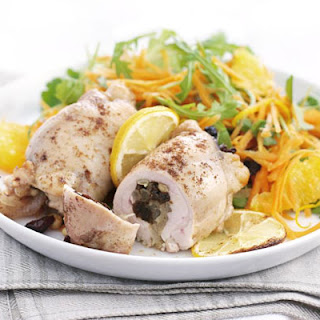 Moroccan-style Chicken With Carrot & Orange Salad