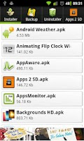 Screenshot of appInstaller