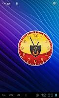 Screenshot of Galatasaray Analog Clock