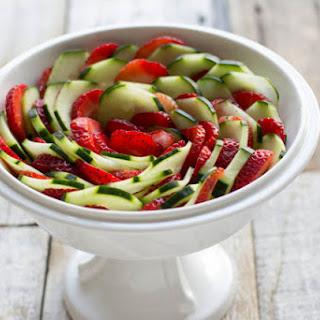 Strawberry Cucumber Salad Balsamic Vinegar Recipes