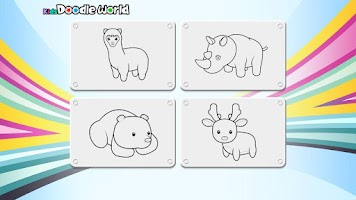 Screenshot of 寶寶畫畫 (摩爾莊園 幼兒遊戲 )