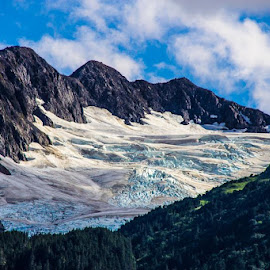Alaskan Glacier by Jason Holden - Landscapes Mountains & Hills