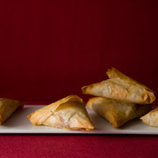 Potato Samosa Phyllo Triangles