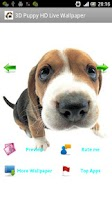 Screenshot of 3D Puppy HD Live Wallpaper