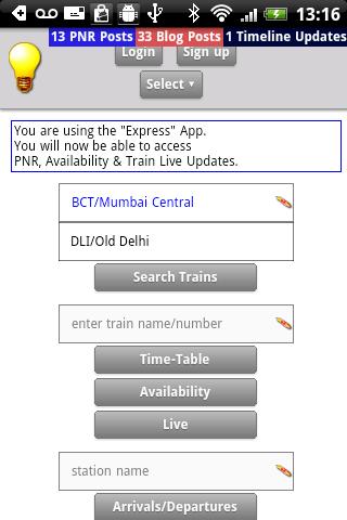 India Rail - One Stop App.