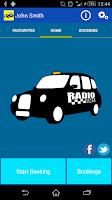 Screenshot of Radio Cabs Tameside Taxi