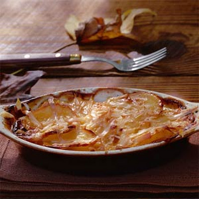Cider Scalloped Potatoes