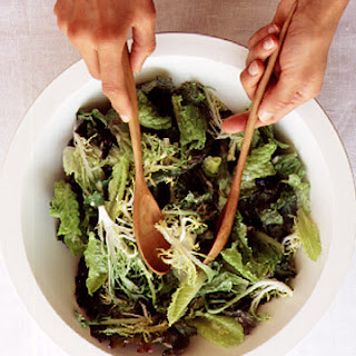 Mixed Lettuces with Creamy Vinaigrette