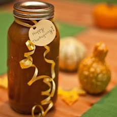Happy Thanksgiving Homemade Pumpkin Butter