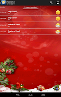 Screenshot of mWeather