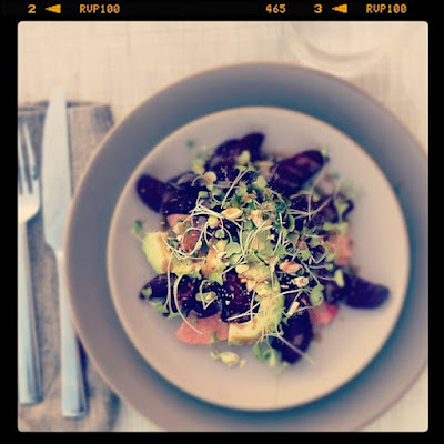Beet, Avocado & Grapefruit Salad